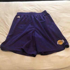 Adidas Los Angeles Lakers shorts